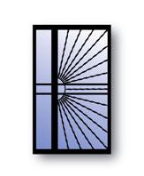 Sunburst R Security Doors Sidelite L Secure All
