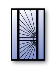 Sunburst L Security Doors T Sidelites Secure All